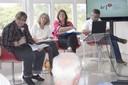 Heloísa Starling, Olgária Matos, Maria Inês Assumpção Fernandes e Raul Araújo