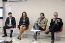 Adriano Andricopulo, Célia Regina da Silva Garcia, Norberto Peporine Lopes e Luiz Henrique Catalani