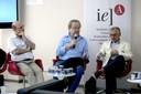 Sérgio Fausto, Francisco Weffort e José Álvaro Moisés