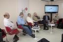 Sérgio Fausto, Francisco Weffort, José Álvaro Moisés, Bernardo Sorj, Marcus Melo e Lourdes Sola