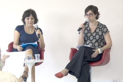 Estela Neves e Juliana Cassano Cibim
