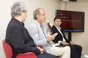 Marcos Buckeridge, Martin Grossmann e José Eduardo Krieger