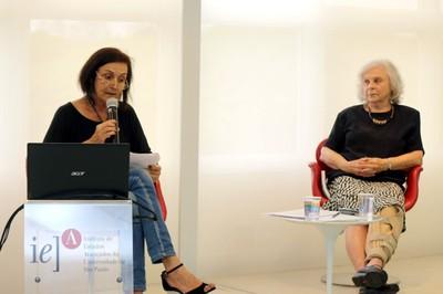 Sandra Maria Patrício Ribeiro e Elaine Pedreira Rabinovich
