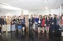 Grupo com o Ministro Renato Janine Ribeiro - 24 de abril de 2015