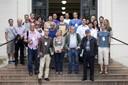Grupo em frente a Faculdade de Medicina - 18 de abril de 2105