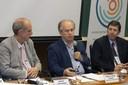 Martin Grossmann, Ministro Renato Janine Ribeiro e José Eduardo Krieger