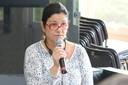 Sylvia Miguel, jornalista do IEA participa do debate