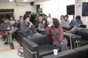 Público participa do debate