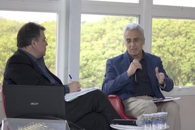 Gerardo Caetano e José Teixeira Coelho Ntto