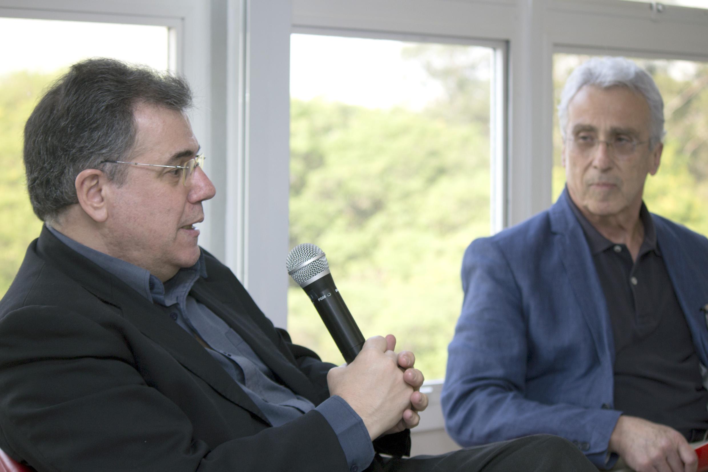 Gerardo Caetano e José Teixeira Coelho Netto