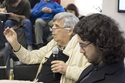 Álvaro Vasconcelos e Geraldo de Campos