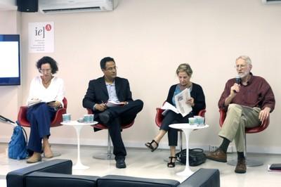 Luciana Gross Cunha, Emmanuel Silva Nunes Oliveira Junior, Maria Tereza Sadek e Robert Moog - (03/12/2015 - tarde)