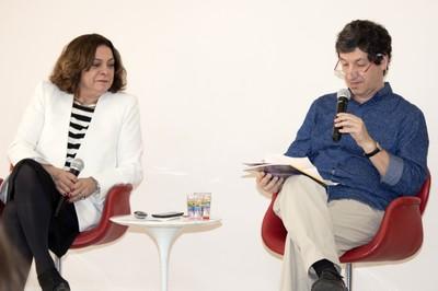 Mariluce Moura e Mario Sergio Salerno