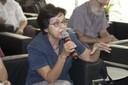 Marinilzes Maradillo Mello faz perguntas durante o evento