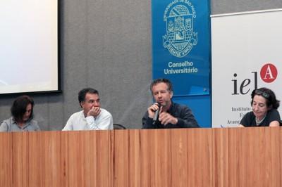 Sandra Maria Patrício Ribeiro, Paulo Sérgio Barreto, José Oswaldo Soares de Oliveira e Adriana Veríssimo Serrão
