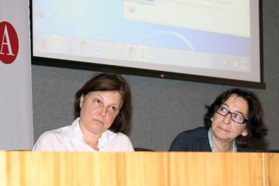 Alessandra Criconia e Adriana Veríssimo Serrão