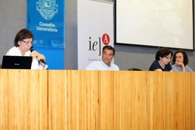 Alessandra Criconia, Paulo Sérgio Barreto, Adriana Verríssimo Serrão e Sandra Maria Patrício Ribeiro