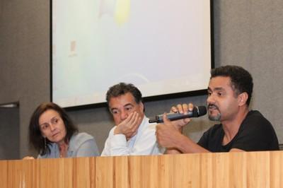 Sandra Maria Patrício Ribeiro, Paulo Sérgio Barreto e Alessandro Oliveira dos Santos