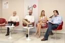 Pedro Jacobi, Patrícia Constante Jaime e Leandro Giatti, Célio Bermann