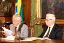 Alfredo Bosi e Sérgio Paulo Rouanet