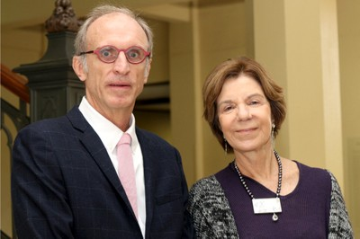 Martin Grossmann e Maria Alice Setubal