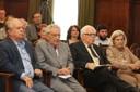 Renato Janine Ribeiro, Alfredo Bosi, Sérgio Paulo Rouanet e Bárbara Freitag