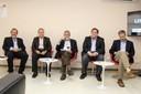 Guilherme Werneck, Carlos Gadelha, Moisés Goldbaum, Roger Chammas e Carlos Henrique de Brito Cruz
