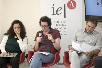 Katia Maciel, Ricardo Basbaum e Marco Giannotti