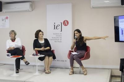 Vera Soares, Leila Saadé e Carolina Brito