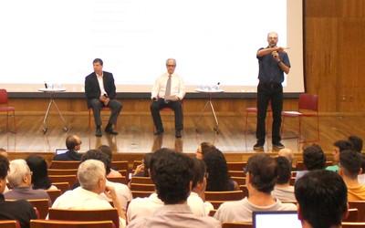 José Eduardo Krieger, Marcos Buckeridge e Fabio Kon