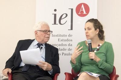 Sergio Paulo Rouanet e Alessandra Affortunati Martins Parente