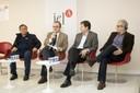 Kazuo Nishimoto, Julio Romano Meneghini,  José Eduardo Krieger e Marcos Buckeridge
