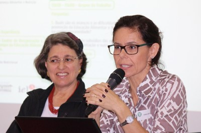 Ana Lydia Sawaya e Gisela Solymos