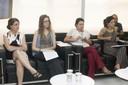 Ana Lydia Sawaya, Bianca Checon, Mariana Cristina Barbosa e Laís Fajersztajn
