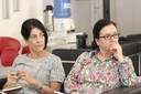 Lúcia Maciel Barbosa de Oliveira e Isis Baldini