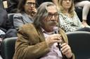 Sérgio Gomes fala durante o debate