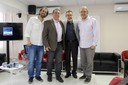 Jacques Fux, Flavio Ulhoa Coelho, Nílson José Machado e Marco Lucchesi