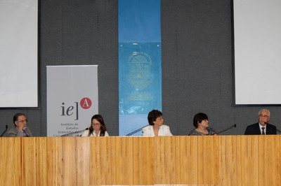 Flavio Pechansky, Vera Viviane Schmidt, Maria Helena P. M. Jorge, Vilma Leyton e Flavio Adura