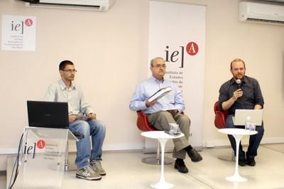 Eduardo Canesin, Carlos Eduardo Lins da Silva e Vitor Blotta