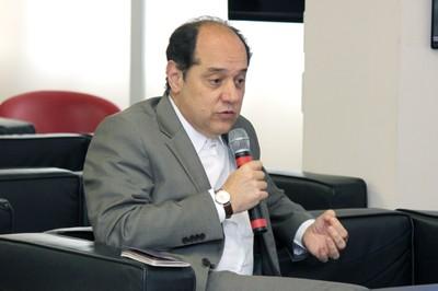 Eugênio Bucci, fala durante o debate