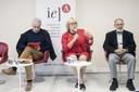 José Teixeira Coelho Netto, Jane Ohlmeyer e Guilherme Ary Plonski