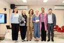 Adriana Capuano de Oliveira, Maura Veras, Sylvia Dantas, Sylvie Debs, Ligia Fonseca Ferreira e Paulo Farah