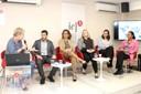 Sylvie Debs, Paulo Farah, Sylvia Dantas, Maura Veras, Adriana Capuano de Oliveira e Ligia Fonseca Ferreira