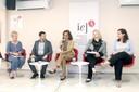 Sylvie Debs, Paulo Farah, Sylvia Dantas, Maura Veras e Adriana Capuano de Oliveira