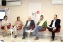 Joanne Garde-Hansen, Karen Worcman, Pedro Jacobi, Antonio Almeida e Danilo Rothberg