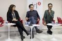 Virginia Vecchioli, Márcio Seligmann-Silva e Jaime Lauriano