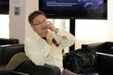 Paulo Endo fala durante o debate