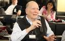 Gehard Malnic fala durante o debate