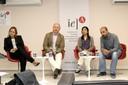 Margareth Simões, Vincent Dubreuil, Beatriz Funatsu e Damien Arvor