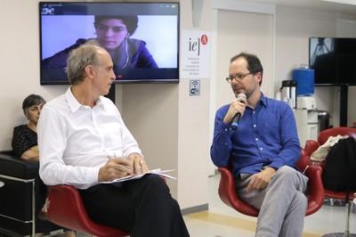 Martin Grossmann e Gabriel Pérez-Barreiro